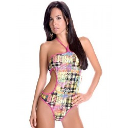 Screen print string monokini