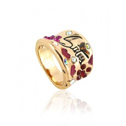 Youth style ring brons