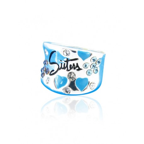 Youth style ring zilver